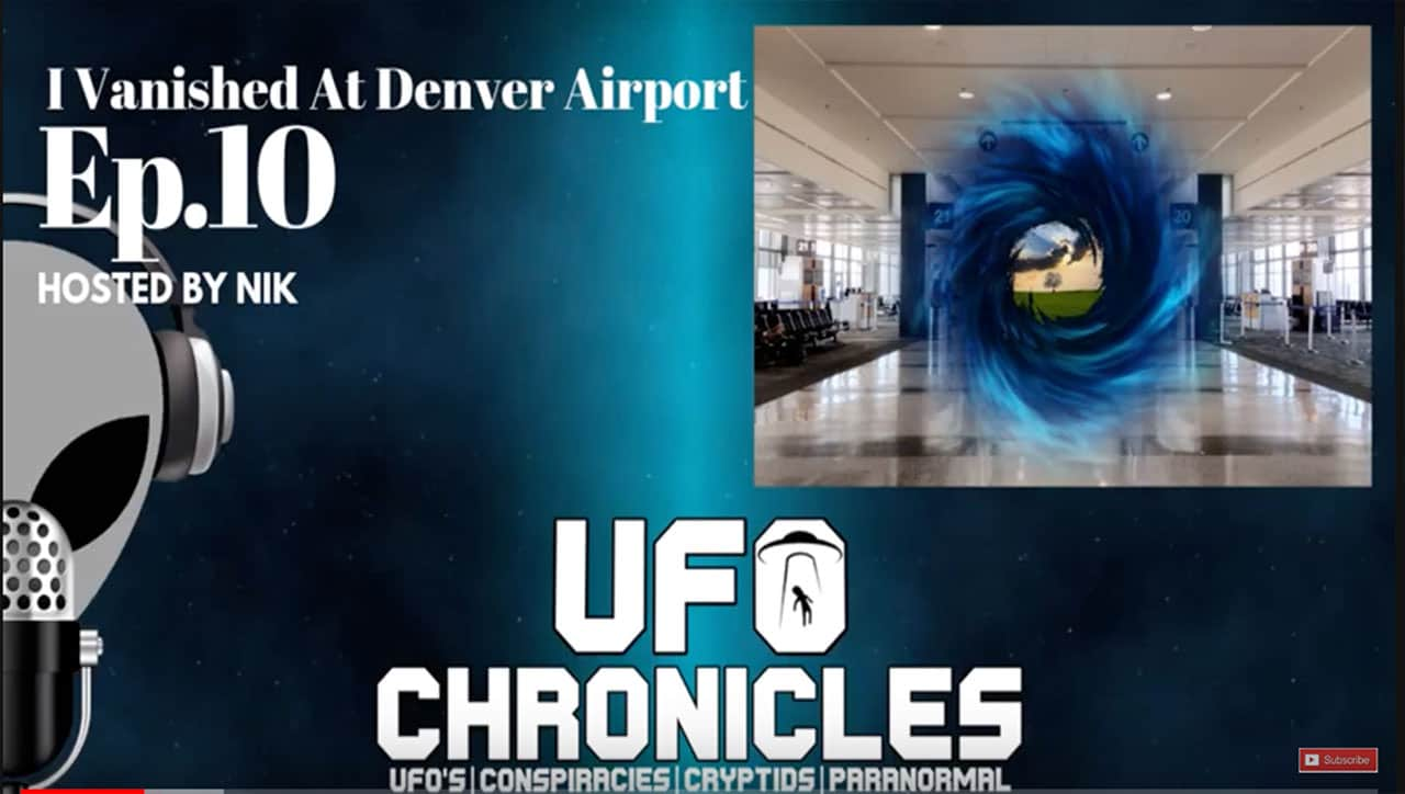 Bibi tells her story on The UFO Chronicles Podcast